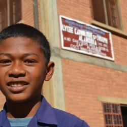 Randriamalala Andriamahefa Tiana aus Antanetibe, Gymnasialstipendium